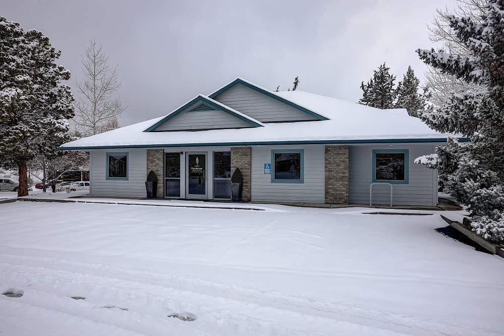 exterior in winter
